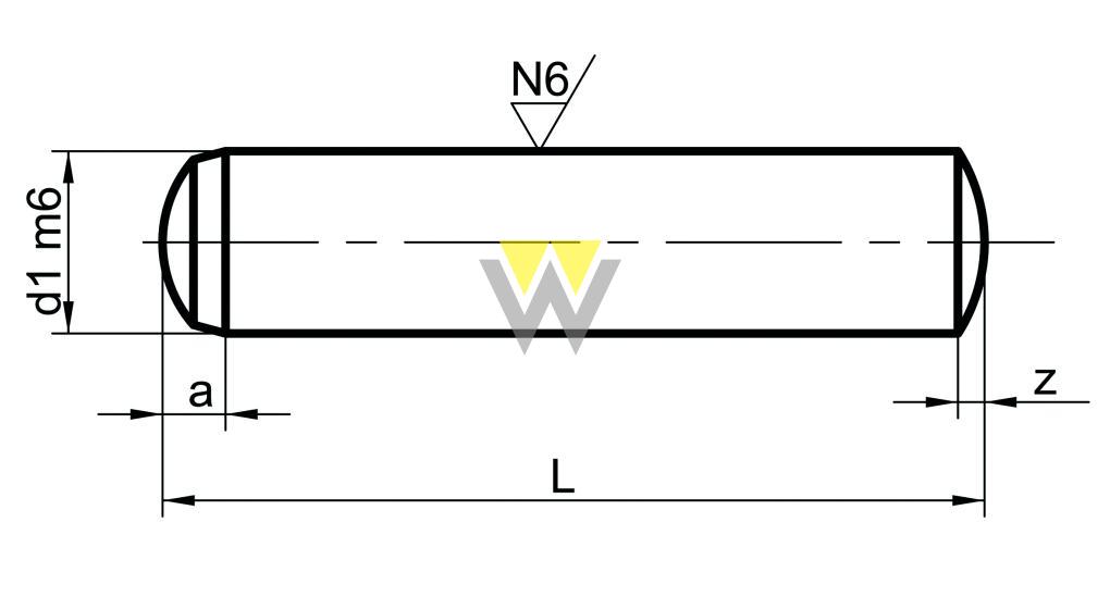 WERCHEM_DIN6325_drawing