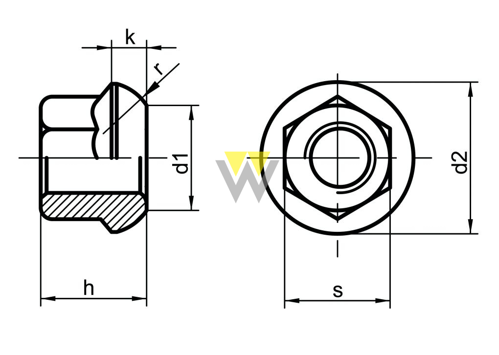 WERCHEM_DIN74361A_drawing
