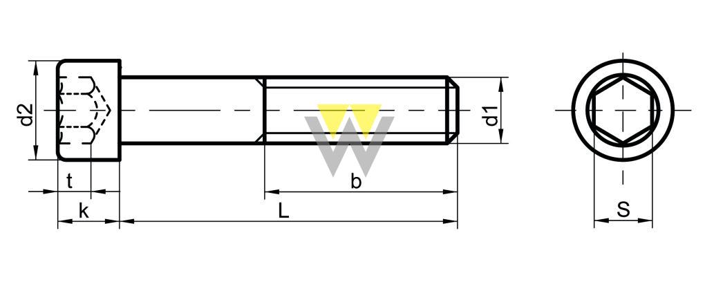 WERCHEM_DIN912_drawing