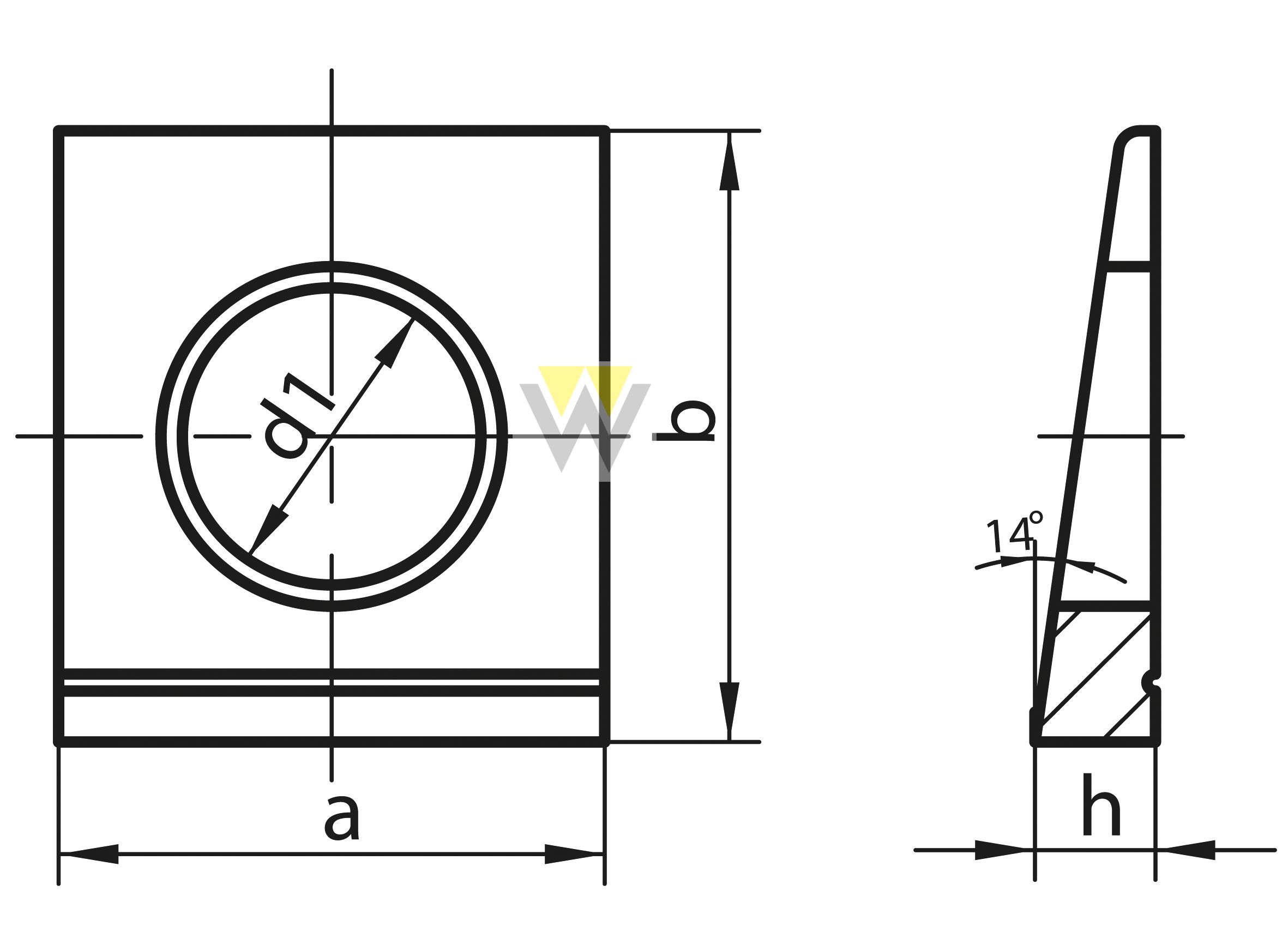 WERCHEM_DIN435_drawing