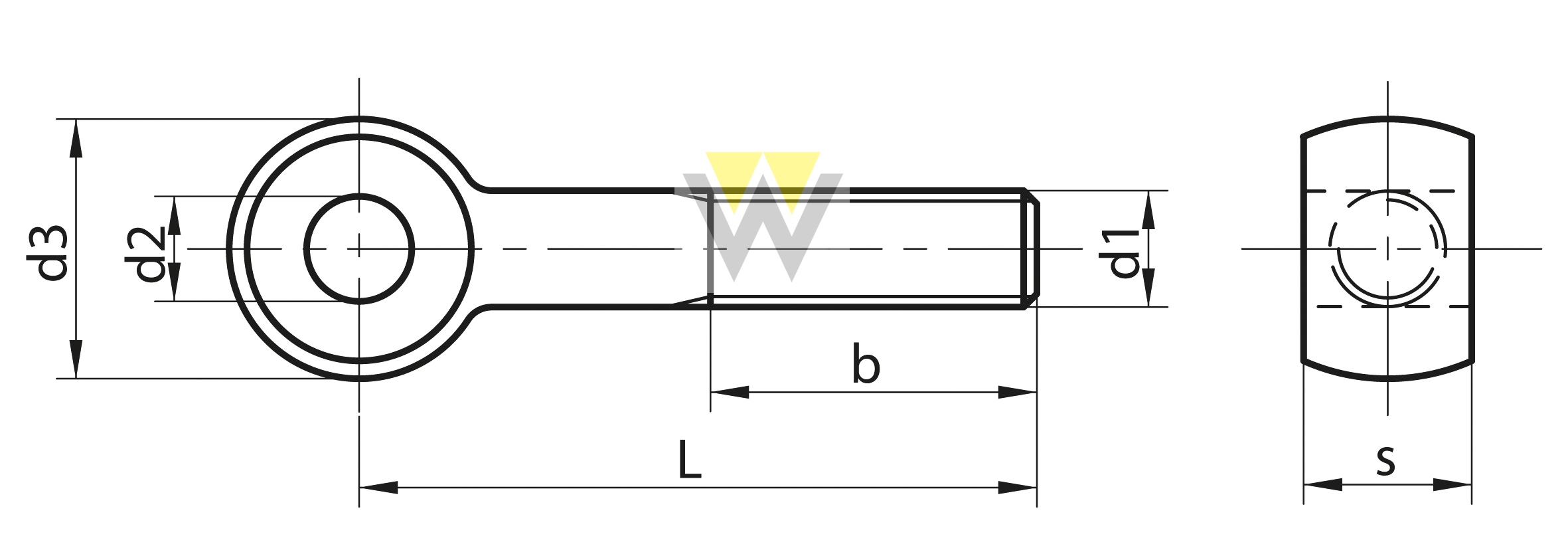 WERCHEM_DIN444_drawing