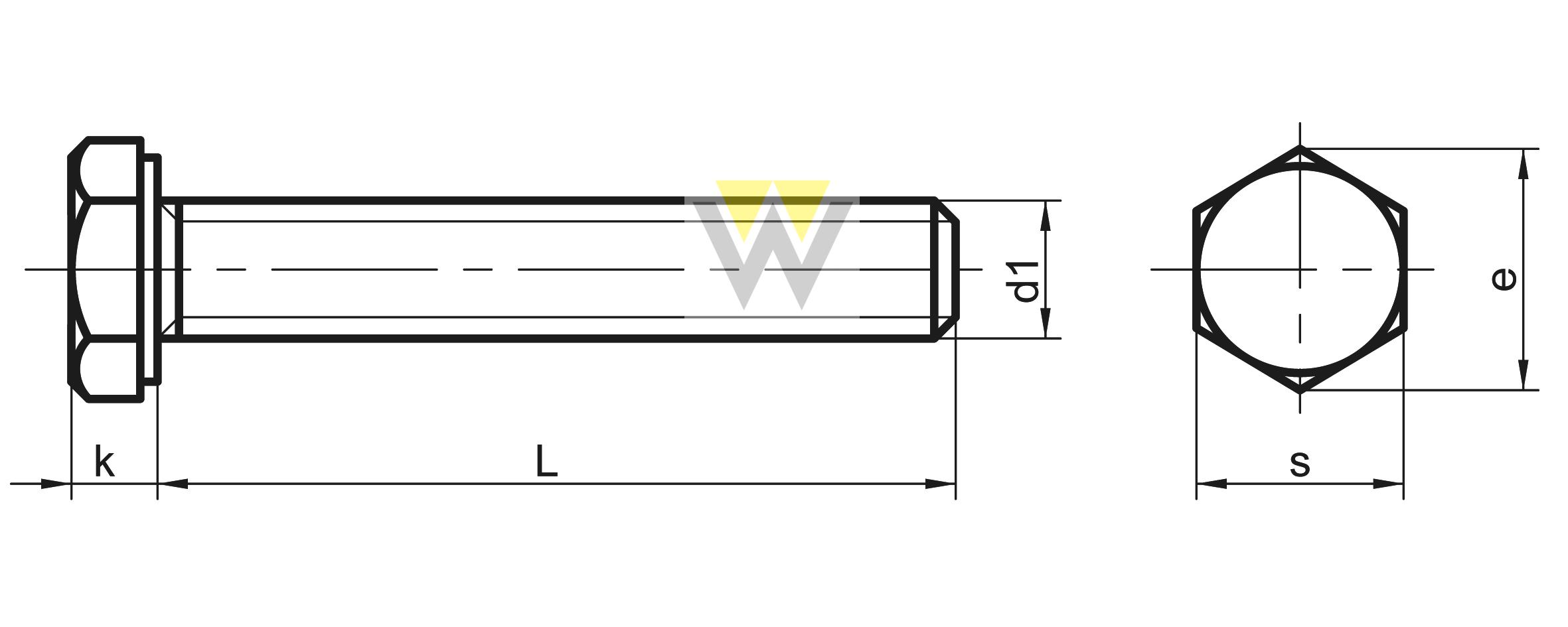 WERCHEM_DIN933UNC_drawing